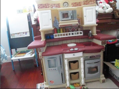 step2 party time kitchen playset an inside look piecesofm youtube - Step2 Kitchen