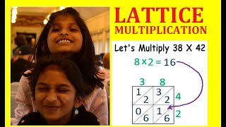EASY MULTIPLICATION STRATAGY | LATTICE MULTIPLICATION | EASY FOR KIDS