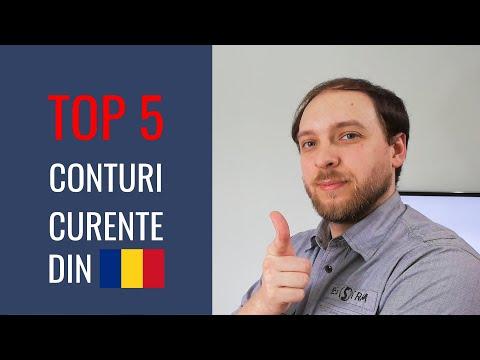 Top 5 Conturi Curente disponibile în România