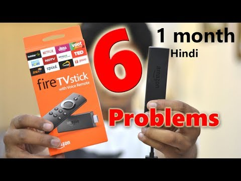 Living with Amazon Fire TV Stick - 1 Month *6 PROBLEMS*!!! Should you BUY IT? In-Depth Review Hindi