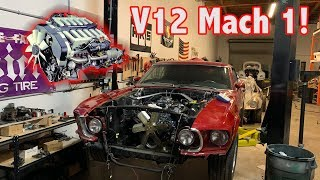 TWIN TURBO V12 Mach 1 Mustang Build! & One Rotor Speedster Update!