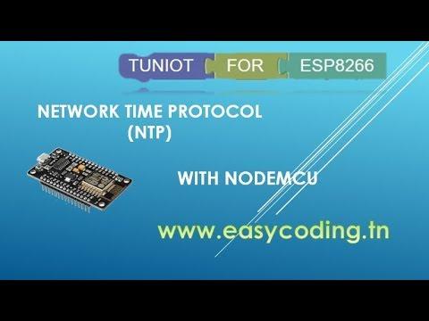 NodeMcu (ESP8266) Tutorial 50: Network Time Protocol