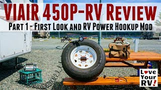 VIAIR Air Compressor Review -  Part 1 (First Look and Power Hookup Mod)