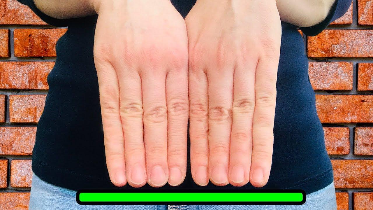 Что, если бы наши пальцы были одной длины?
