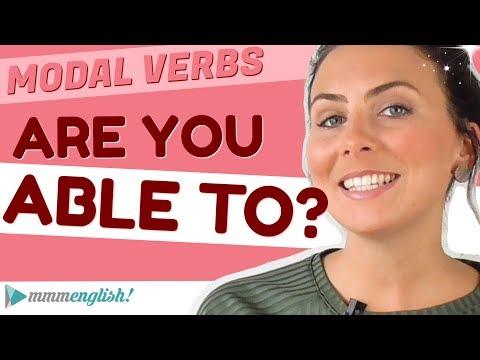 Are you ABLE to..? 💪🏼 English Modal Verbs
