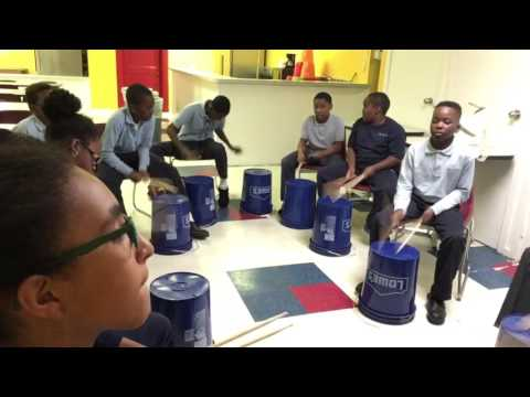 Triplet jam with the Raising Music drummers of Laboratory Charter School