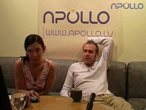 Mārtiņš Freimanis «Apollo» videočatā (24.05.2005.)