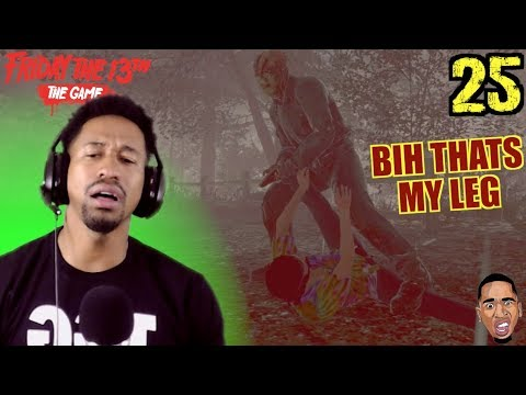 JASON TRYNA GET FREAKY!! Friday the 13th Gameplay #25