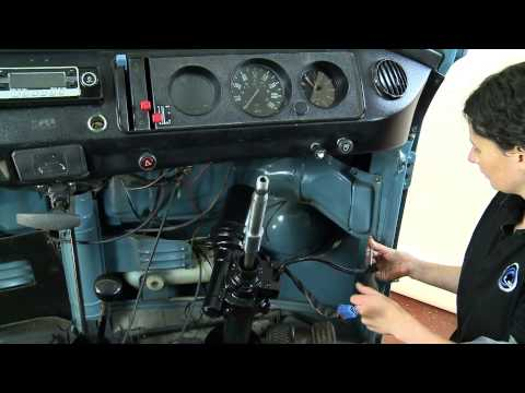 How to fit the LiteSteer Power Assisted Steering for VW Camper vans and Classic Cars.