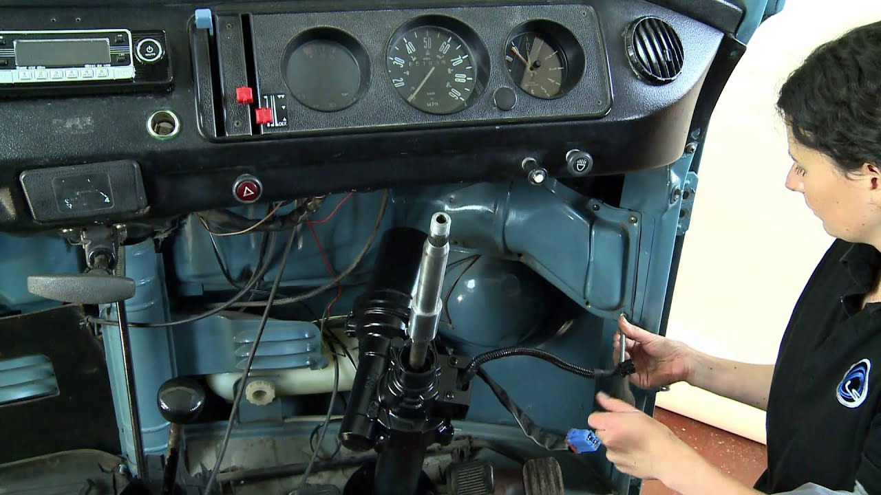 For Type 2 Vw Engine Wiring Diagram How To Fit The Litesteer Power Assisted Steering For Vw