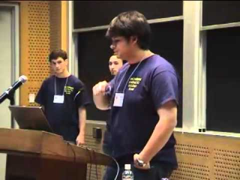 University of Michigan team presentation at iGEM 2006