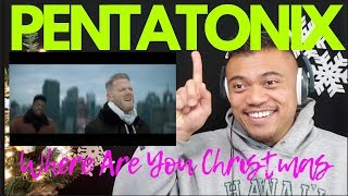 WHERE ARE YOU, CHRISTMAS? by PENTATONIX | Bruddah Sam's REACTION vids