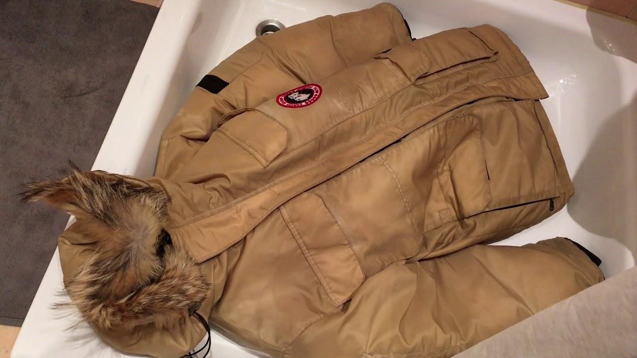 Mantel selber waschen