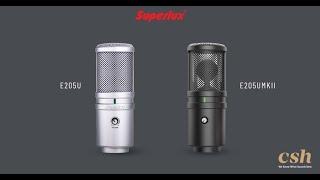 Superlux E205U & E205UMKII USB Conderser Microphone