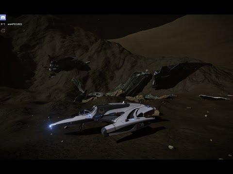 HIP 17403 Planet A 4 A - Alien Crash Site -34.96 -141.40