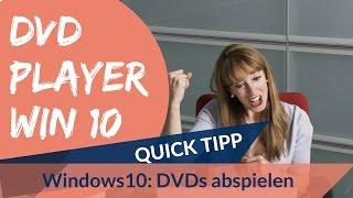DVD Player für Windows 10 Anleitung Deutsch