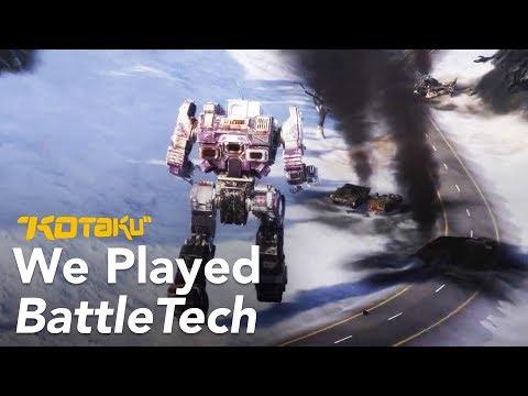 We Blew Up Giant Robots In Battletech