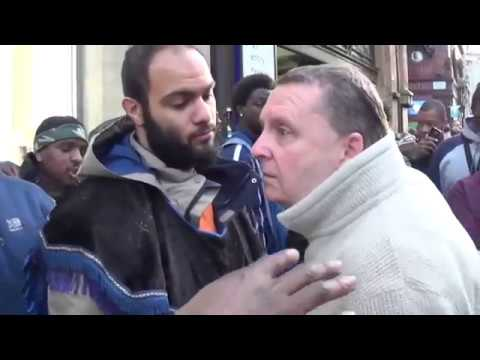 London Irish Catholic & Friend Meet The Hebrew Israelites - Oxford Street London - Youtube -