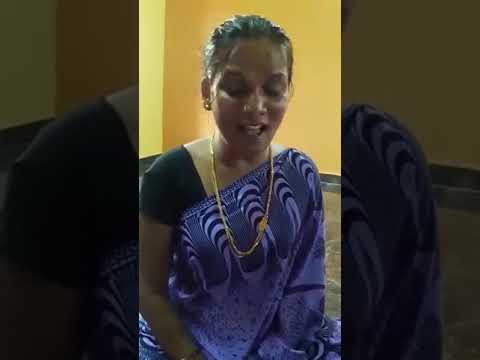 House wife singing song....chinna chinna vanna kuyil...