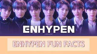 Download ENHYPEN FUN FACTS [THE TOP 7] | Queen 타키 |