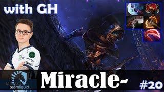 Miracle - Phantom Assassin MID | with GH (ES) 7.18 Update Patch | Dota 2 Pro MMR Gameplay #20