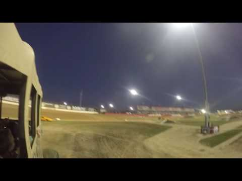 Riding in Sergeant Smash Monster Truck at Lucas Oil Speedway