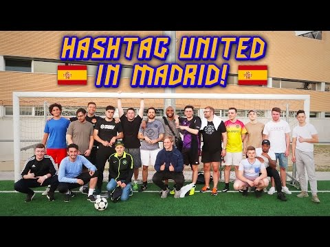 HASHTAG UNITED IN MADRID!