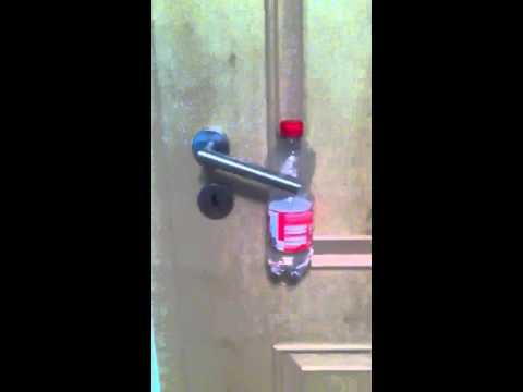 Favorit Mit Flasche die Tür verschließen - YouTube TZ51