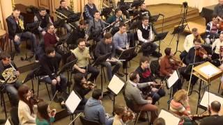 Tchajkovsky Symphony №6, III mov. Rehearsal with KLK Lviv Symphony Orchestra