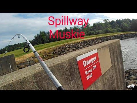 Spillway Muskie Fishing