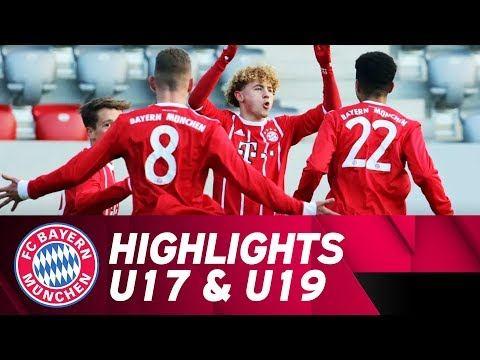 U17 besiegt den Karlsruher SC, U19 weiter ungeschlagen | Highlights FC Bayern Campus