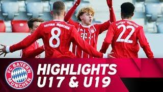 U17 besiegt den Karlsruher SC, U19 weiter ungeschlagen   Highlights FC Bayern Campus