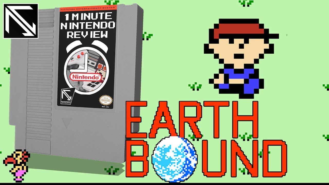 Earthbound (Mother) - 1 Minute Nintendo Review