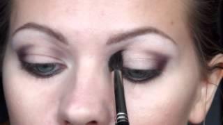Яркий макияж для карих глаз (для Юлии)
