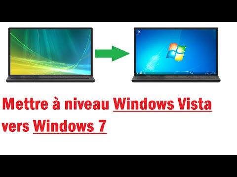 Passer de Windows Vista à Windows 7 (Sans formater)