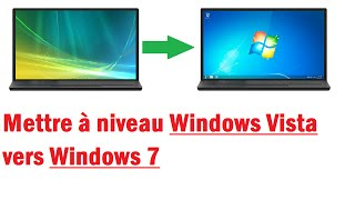 Passer de Windows Vista à Windows 7 (Sans formater)