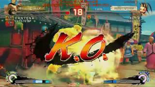 a-cho ULTRA STREET FIGHTER IV 『究-kiwami-第八章』5on5大会①(2019.4.29)