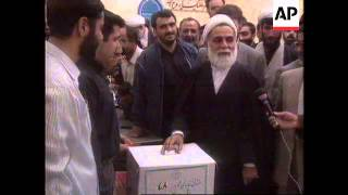 IRAN: MODERATE MOHAMMAD KHATAMI WINS PRESIDENTIAL ELECTION