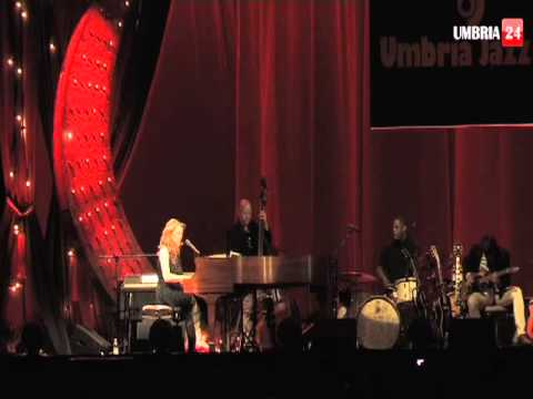 Umbria Jazz 2013, il concerto di Diana Krall al Santa Giuliana