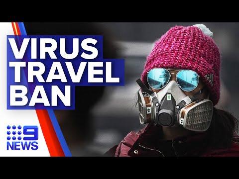 Australia Extends Coronavirus Travel Ban | Nine News Australia