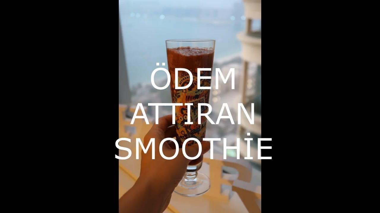 Ödem attıran smoothie
