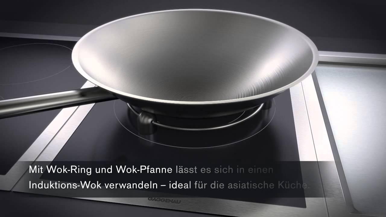 Gaggenau Induktions Wok Erhaltlich Bei Moebelplus Youtube