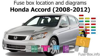 Fuse box location and diagrams: Honda Accord (2008-2012) - YouTubeYouTube