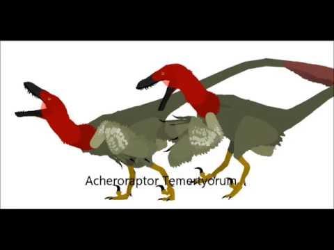 PPBA Acheroraptor vs Dilophosaurus