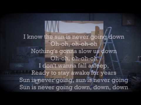 Sun Is Never Going Down (Lyrics) - Martin...