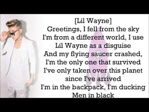 Justin Bieber feat. Lil Wayne - Backpack (with Lyrics)