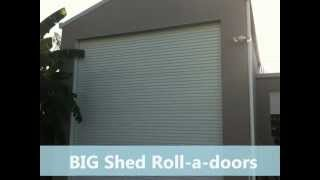 Blue Board Cladded Sheds Queensland