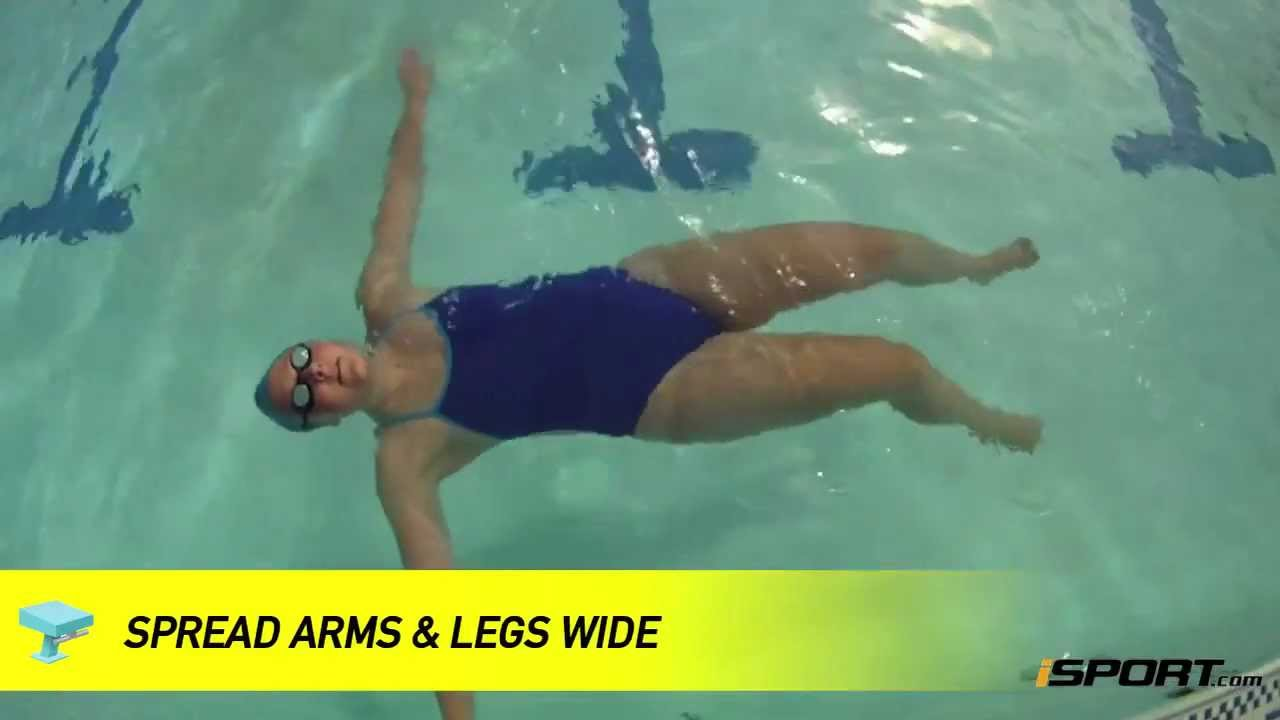 How To Float For Beginning Swimmers Youtube