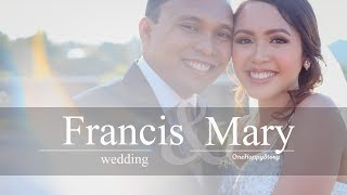 Francis and Mary wedding at Mallberry Suites