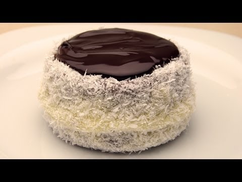 Mini Coconut And Chocolate Cakes Recipe
